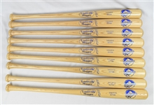 Kirby Puckett 2001 Hall of Fame Lot of 9 Exclusive Edition Bats w/Puckett Family Provenance