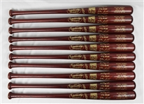 Kirby Puckett Hall of Fame Class of 2001 Lot of 10 Exclusive Edition Induction Bats w/Puckett Family Provenance