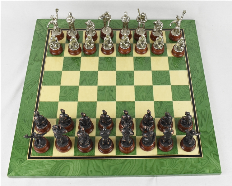 Kirby Pucketts Personal Chess Set w/Puckett Family Provenance