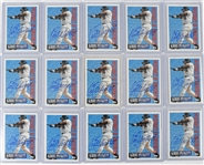 Kirby Puckett Lot of 15 Autographed Cards w/Puckett Family Provenance