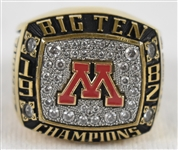 Trent Tuckers 1982 Big 10 Championship Ring w/Letter of Provenance