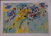 "LeRoy Neiman 1980 Lake Placid Olympics ""Miracle On Ice"" Limited Edition Serigraph"
