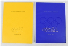 Doug Mientkiewicz Autographed & Inscribed 2000 Olympic Games Opening & Closing Ceremonies Programs