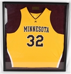 Trent Tuckers Minnesota Gophers Retirement Jersey February 10th, 2009 w/Letter of Provenance