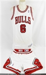 Trent Tucker 1992-93 Chicago Bulls NBA Finals Game Used Home Uniform w/Letter of Provenance