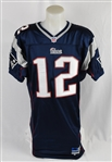Tom Brady 2000 New England Patriots Game Worn Rookie Jersey w/Dave Miedema LOA & Patriots Provenance