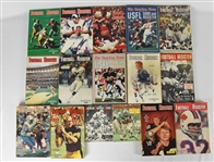 Vintage 1960s-1980s NFL & USFL Guides and Registers