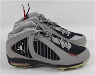 Derek Jeter Custom New York Yankees Air Jordan Cleats