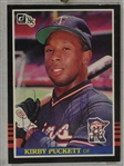 Kirby Puckett Autographed 1985 Donruss Rookie Card
