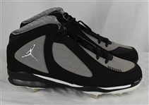 Derek Jeter Game Used 2009 MLB All-Star Game Cleats