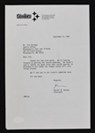 Dan Rooney Pittsburgh Steelers Signed Letter to Sid Hartman