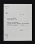Bobby Knight Indiana Hoosiers Signed Letter to Sid Hartman