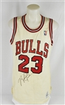 Michael Jordan 1986-87 Chicago Bulls Game Used Jersey w/MEARS LOA