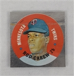 Rod Carew Minnesota Twins 1968 Topps Test Disc Card *RARE*