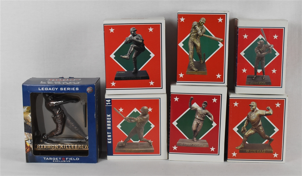 Collection of 7 Figurines w/Harmon Killebrew