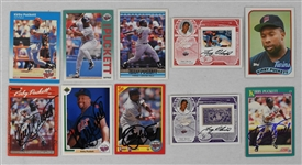 Kirby Puckett & Tony Oliva Autographed Card Collection