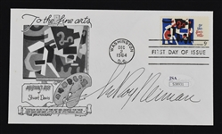 LeRoy Neiman Autographed First Day Cover