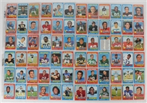 NFL 1971 Topps Football Card Set (263)