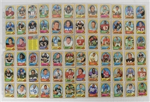NFL 1970 Topps Football Card Set (263)