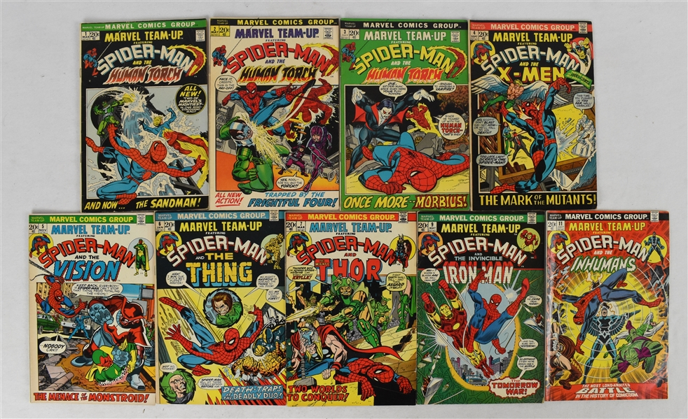 Marvel Team Ups Comic Book Collection (27)
