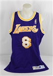 Kobe Bryant 1996-97 Los Angeles Lakers Game Used Rookie Jersey w/D.C. Sports Authentication