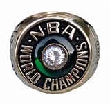 Larry Bird 1981 Boston Celtics NBA World Champions 10K Gold Rare Balfour Sample Ring