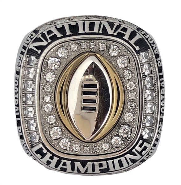 Cam Burrows 2015 Ohio State Buckeyes National Championship Players Ring *RARE*