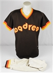 Ozzie Smith 1981 San Diego Padres Gamed Used Jersey *Photomatched by Sports Investors Authentication*