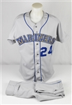 Ken Griffey Jr 1991 Seattle Mariners Game Used Full Uniform w/Dave Miedema LOA