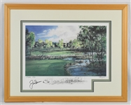 Jack Nicklaus Autographed Limited Edition Lithograph