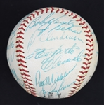Pittsburgh Pirates 1967 Team Signed Baseball w/Stunning Roberto Clemente Auto