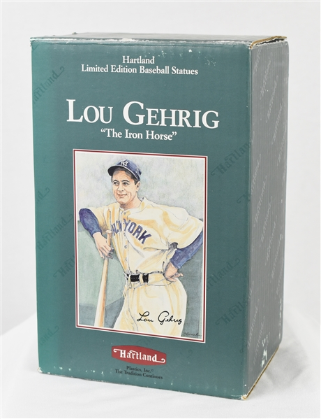 Lou Gehrig Limited Edition Hartland Statue w/Original Box