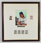 Mike Piazza 1999 Original James Fiorentino 1999 Topps Gallery Heritage Original Artwork