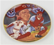 Johnny Bench Autographed Limited Edition Plate