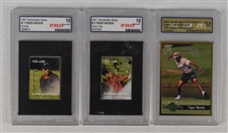 Tiger Woods Graded Cards