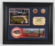Miguel Cabrera 2011 Detroit Tigers Framed All-Star Game Locker Nameplate