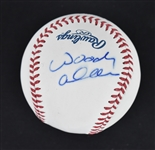 Woody Allen Autographed Baseball