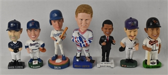 Collection of 7 Bobbleheads