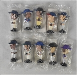 2002 Post Cereal Set of 10 Mini Bobbleheads