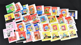 Collection of Wax Pack Wrappers