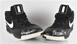 Kevin Love Minnesota Timberwolves Game Used & Autographed Shoes JSA LOA