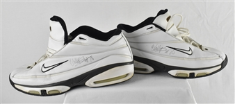 Wally Szczerbiak Minnesota Timberwolves Game Used & Autographed Shoes