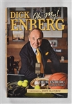 Dick Enberg Signed & Inscribed Book to Sid Hartman