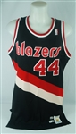 Dražen Petrovic 1989 Game Used Portland Trail Blazers Rookie Jersey w/Dave Miedema LOA