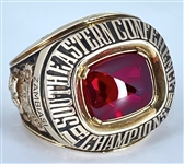 Extremely RARE 1981 Georgia Bulldogs SEC Champions 10K Yellow Gold Ring from Herschel Walker's Heisman Trophy Season