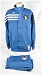 Alexey Shved 2013-14 Minnesota Timberwolves 25th Anniversary Season Game Used Warm Up Jacket & Pants