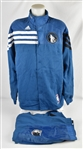 Brandon Roy 2013-14 Minnesota Timberwolves 25th Anniversary Season Game Issued Warm Up Jacket & Pants